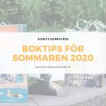 Boktips för sommaren 2020 - Tips för semestern och hängmattan