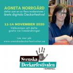 Svenska deckarfestivalen 2020 - En digital bokmässa